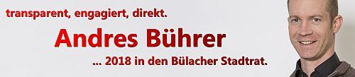 Andres Bührer in den Stadtrat