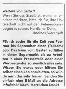 Stadtblatt Bülach 10.01.2020 Seite 2